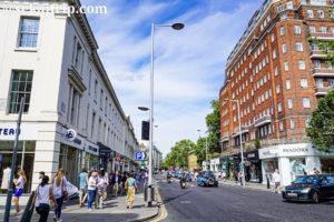 ロンドンのキングス・ロード(King's Road)