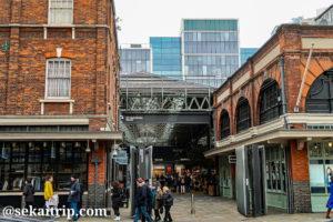 ロンドンのスピタルフィールズ・マーケット(Spitalfields Market)