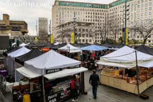 ロンドンのサウスバンク・センター・フード・マーケット(Southbank Centre Food Market)