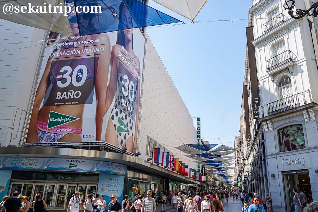 マドリードのおすすめ買い物スポット8選!ブランド店街、アウトレットなど