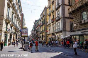 ナポリのトレド通り(Via Toledo)