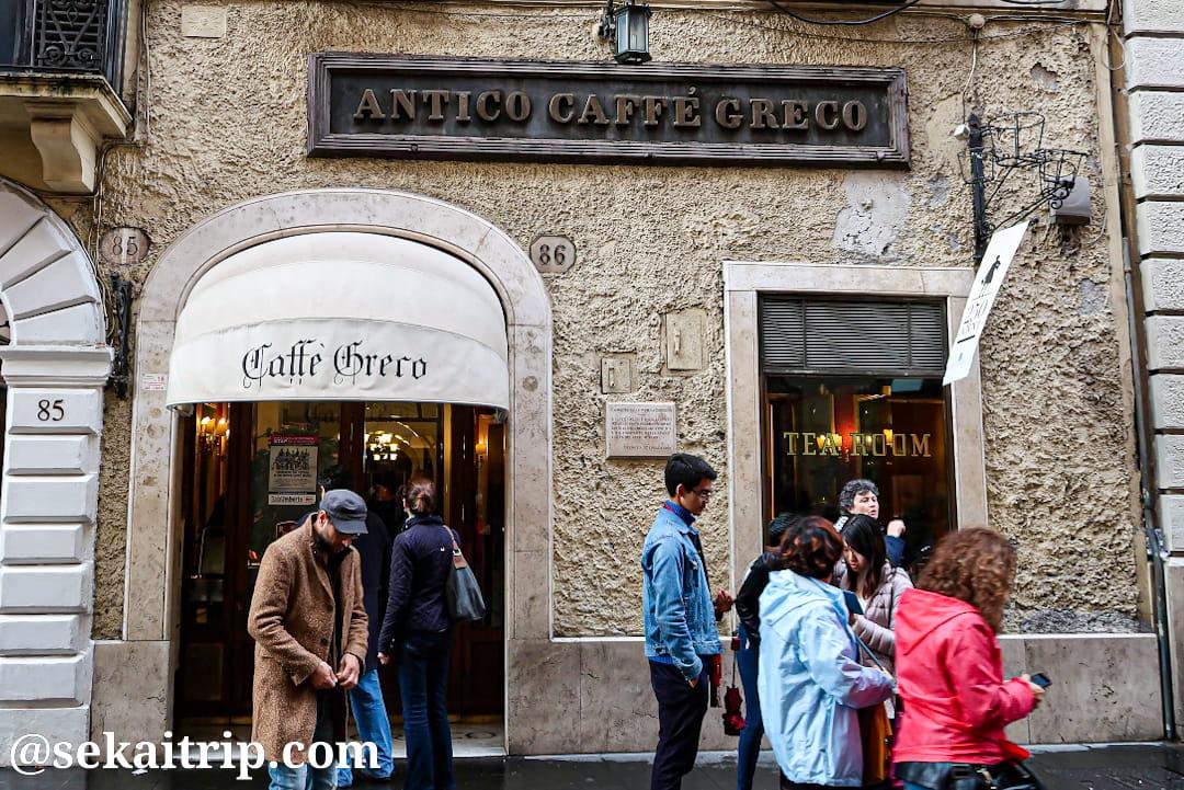 アンティコ・カフェ・グレコ(Antico Caffè Greco)