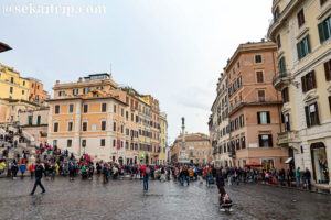 スペイン広場(Piazza di Spagna)