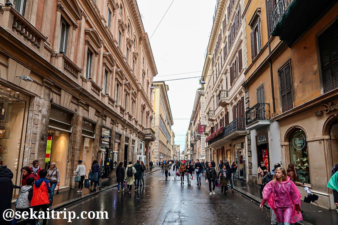 コルソ通り(Via del Corso)