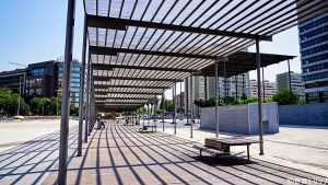 バルセロナ・サンツ駅付近