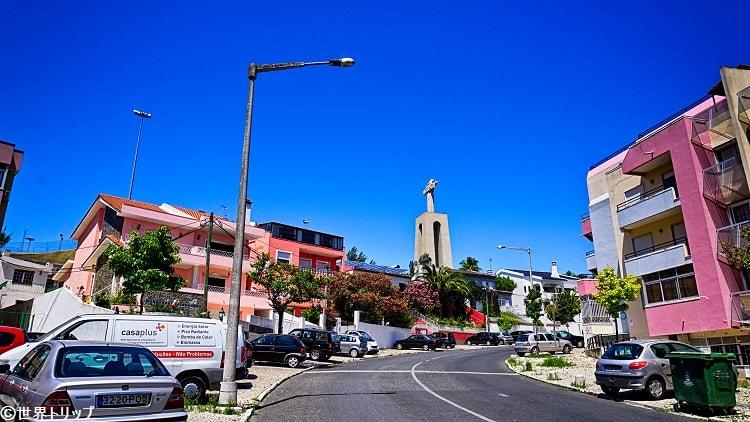 クリスト・レイ像の広場周辺