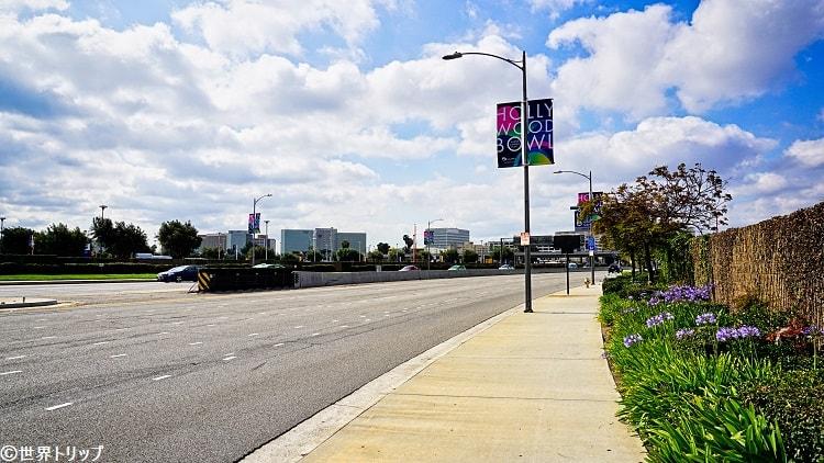 ロサンゼルス国際航空(LAX)周辺の景色