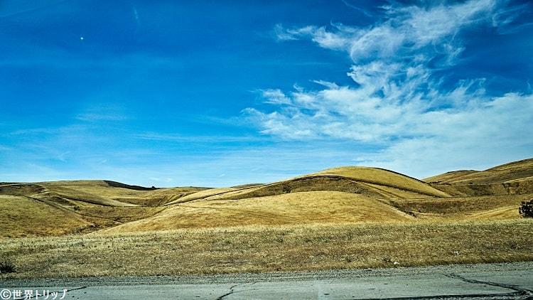 リバモア(Livermore)からトレーシー(Tracy)周辺の景色