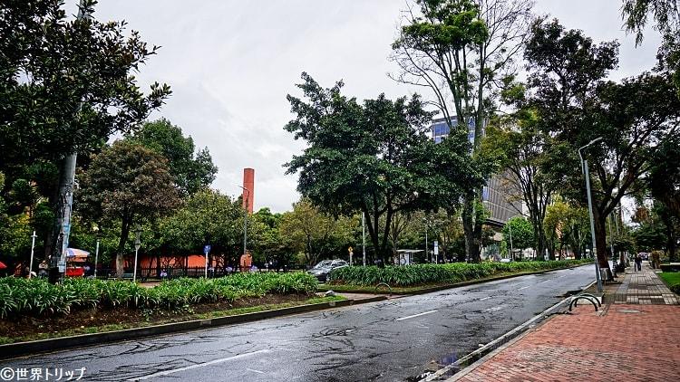 新市街(Parroquia Inmaculada Concepción付近)