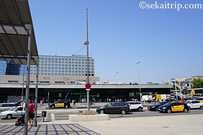 バルセロナ・サンツ駅