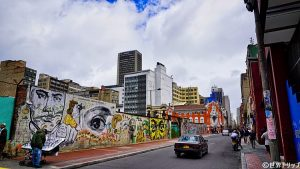 旧市街(Carrera8、Calle19)