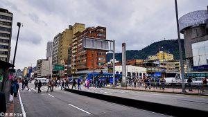 トランスミレニオ「Las Nieves」駅