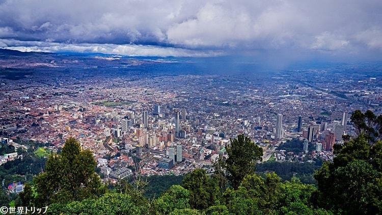 モンセラーテの丘から見た景色
