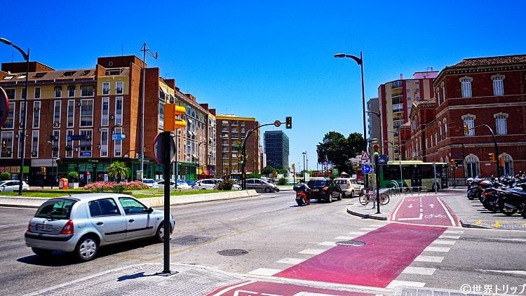 エクスプラナダ・デ・ラ・エスタシオン通り