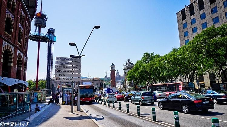 タラゴナ通り(スペイン広場付近)