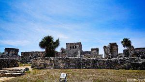 トゥルム遺跡(Ruinas de Tulum)のエル・カスティージョ