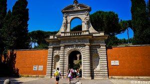 フォロ・ロマーノ(Foro Romano)の入口