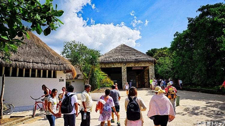 トゥルム遺跡(Ruinas de Tulum)の入口