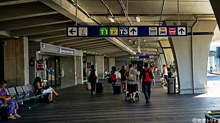 フィウミチーノ空港(Aeroporto di Fiumicino)