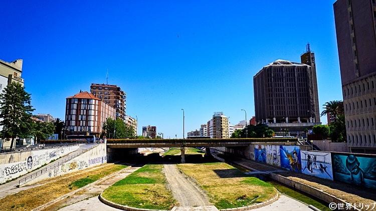 エスペランサ橋から撮影