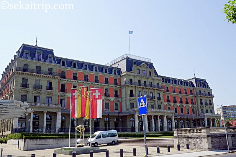 国際連合人権高等弁務官事務所の本部