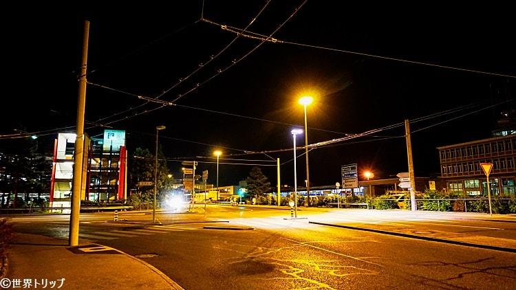 ジュネーブのアエロポール道路