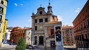 スペイン軍大聖堂教会(ビリャ広場付近)