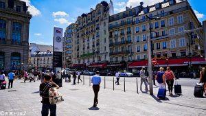 パリ北駅前