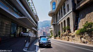 モナコ・ヨットクラブ(Yacht Club de Monaco)前