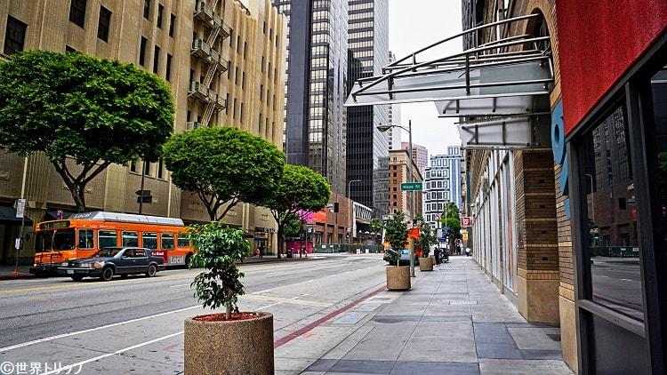ダウンタウンのホープ・ストリート