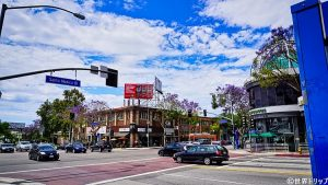 ウエスト・ハリウッド(West Hollywood)の一角
