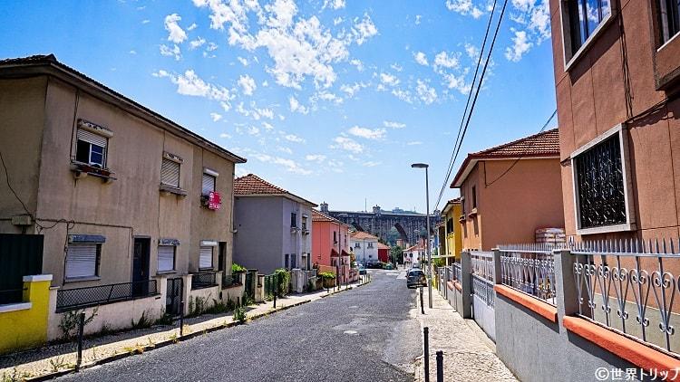 10通り(アグアス・リブレス水道橋付近)
