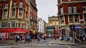 ロンドンのチャイナタウン