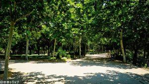 オエステ公園(デボー聖堂付近)