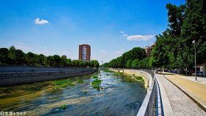 マンサナレス川
