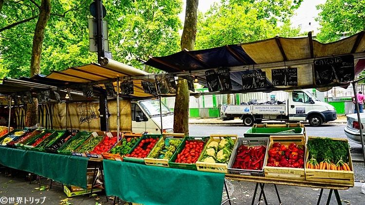 オーギュスト・ブランキ通りのマーケット