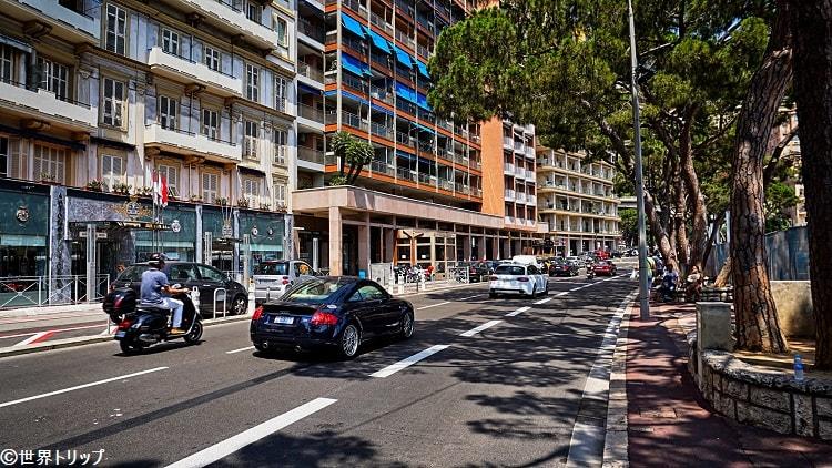 アルベール1世大通り(Boulevard Albert 1er)