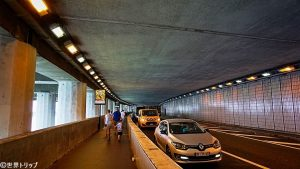 ルイII通り(トンネル内)