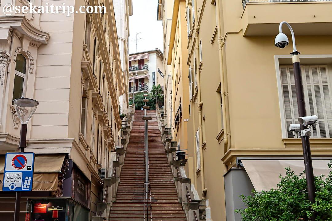 Escalier de l'Inzemia
