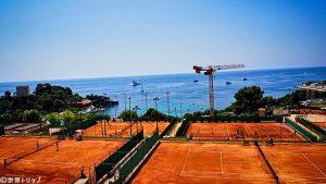 モンテカルロ・カントリー・クラブのテニスコート