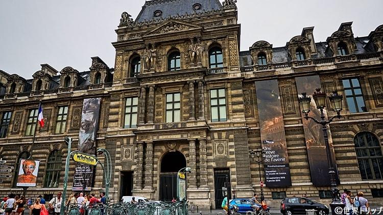 ルーヴル美術館入口