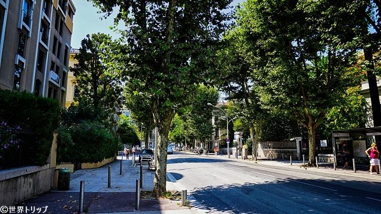 カラバセル通り(Boulevard Carabacel)
