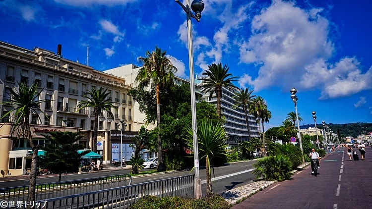 プロムナード・デ・ザングレ(Promenade des Anglais)