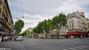 サンジェルマン大通り(Boulevard Saint-Germain)