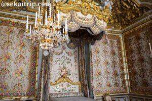 ヴェルサイユ宮殿の女王の寝室