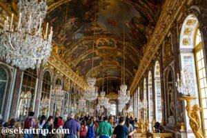 ヴェルサイユ宮殿の鏡の間