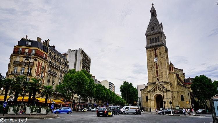 サン・ピエール・ド・モンルージュ教会