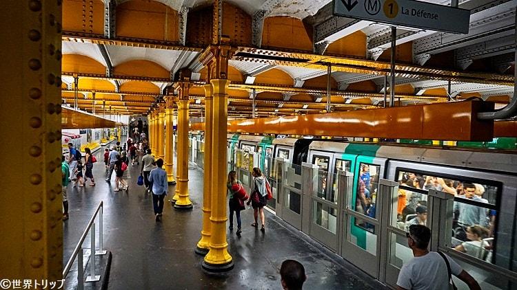 リヨン駅(地下鉄)のホーム