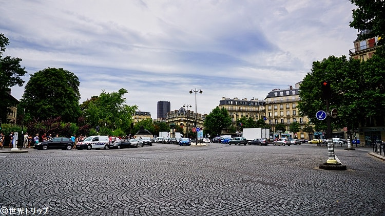 ダンフェール・ロシュロー広場(Place Denfert-Rochereau)