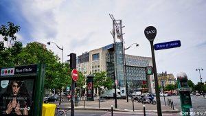 パリのイタリア広場(Place d'Italie)